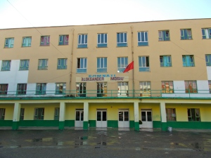 My school, Aleksandër Moisiu High.