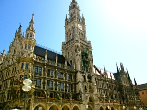 Marienplatz--the city center