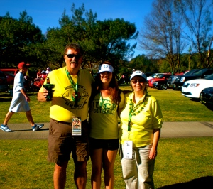 Me with Pete & Laurie at the 2012 Rose Bowl