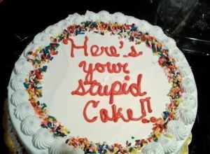 This is most likely going to be the cake we end up getting :-/